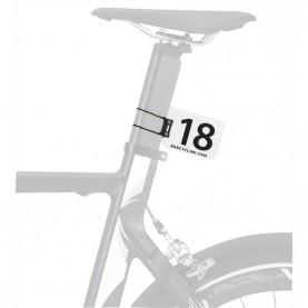Startnummer Halter für Rennen (Bike, Rennrad, Triathlon) rund