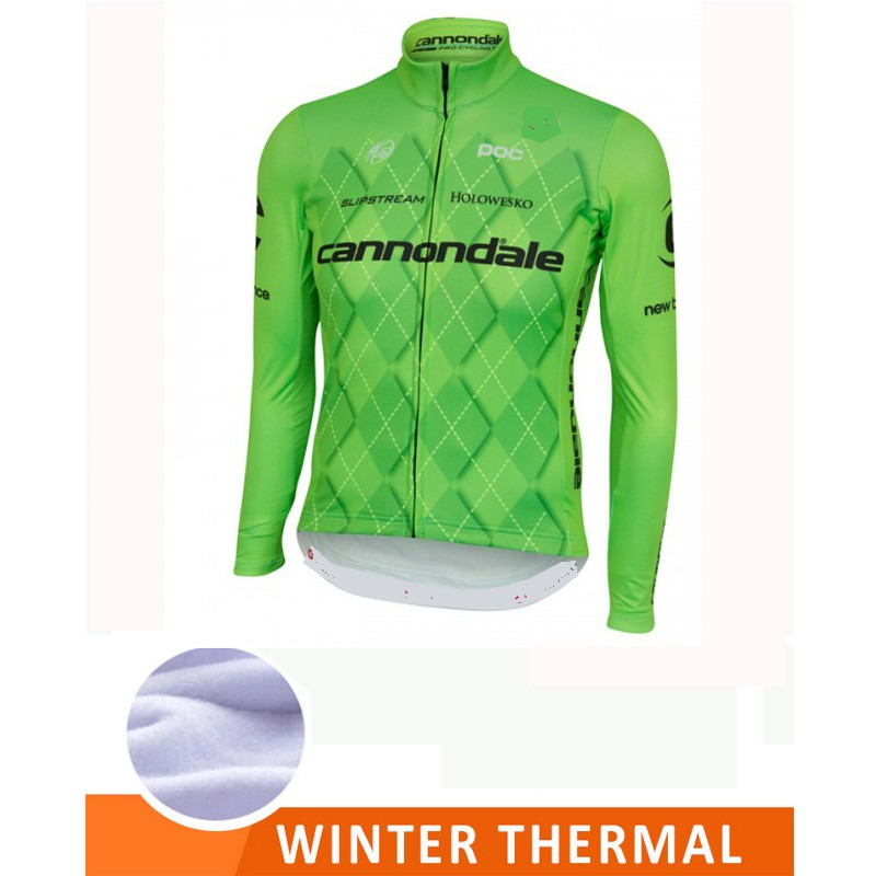 Cannondale team thermo cycling shirt - Santa Monica Sport 29b5325c9