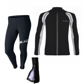 Langlauf race set (Top u. Hose) Thermo