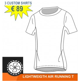 Running Shirt custom made E-Swiss