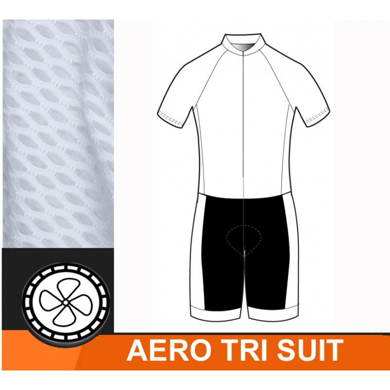 Triathlon Aerosuit E-Swiss Custom Made - Santa Monica Sport