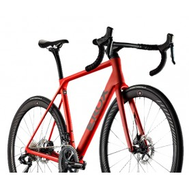 Road race bike Erox Quarra One (total integration)