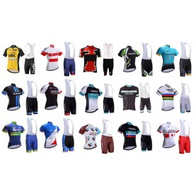 Team Trikot und bib shorts Sommer-Set