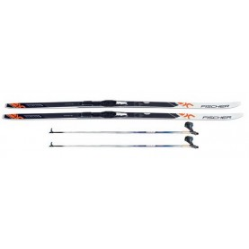 Classic no wax set Fischer Sporty (ski+poles)