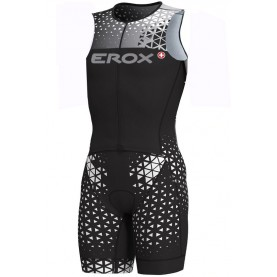 Triathlon sleeveless race suit Erox 1in1 women