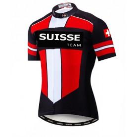 Swiss team cycling shirt