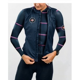 XC Ski/Bike Running Set with thermo sweater and wind vest