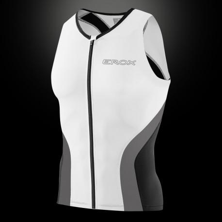 Triathlon top hinten Netzmaterial für beste Ventilation