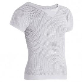 Netz kurzarm Unterhemd Second Skin T